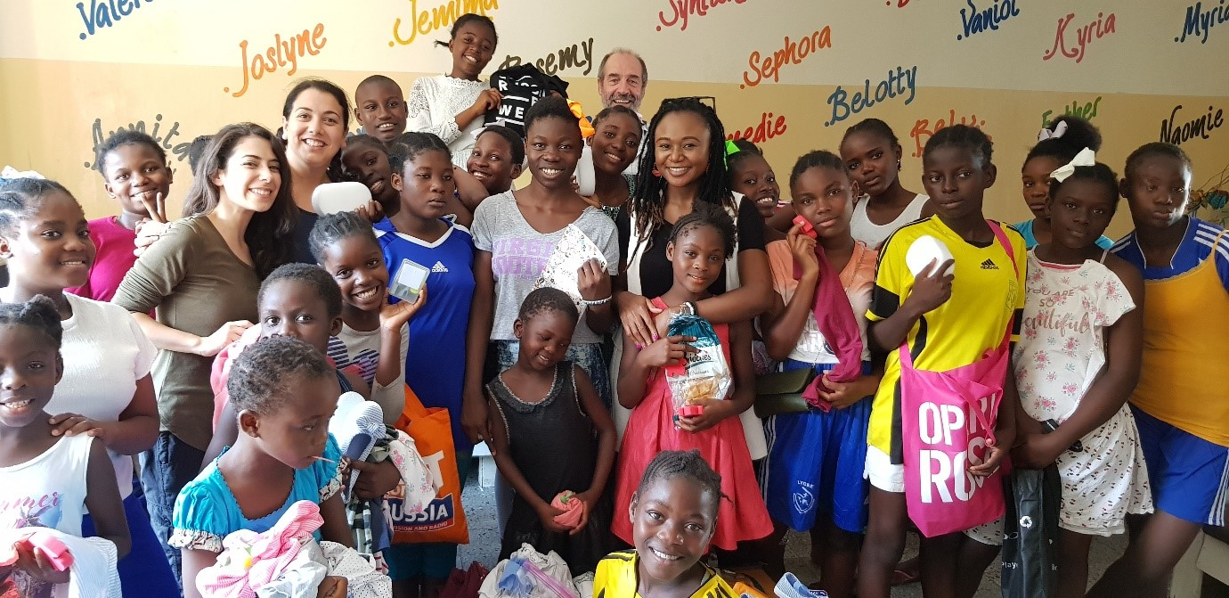 The children at Matumaini orphanage in Kinshasa, DRC, October 5, 2019 UN GLOBAL COMPACT NETWORK UK/Benafsha Delgado