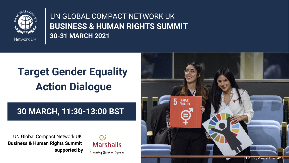 Target Gender Equality Action Dialogue