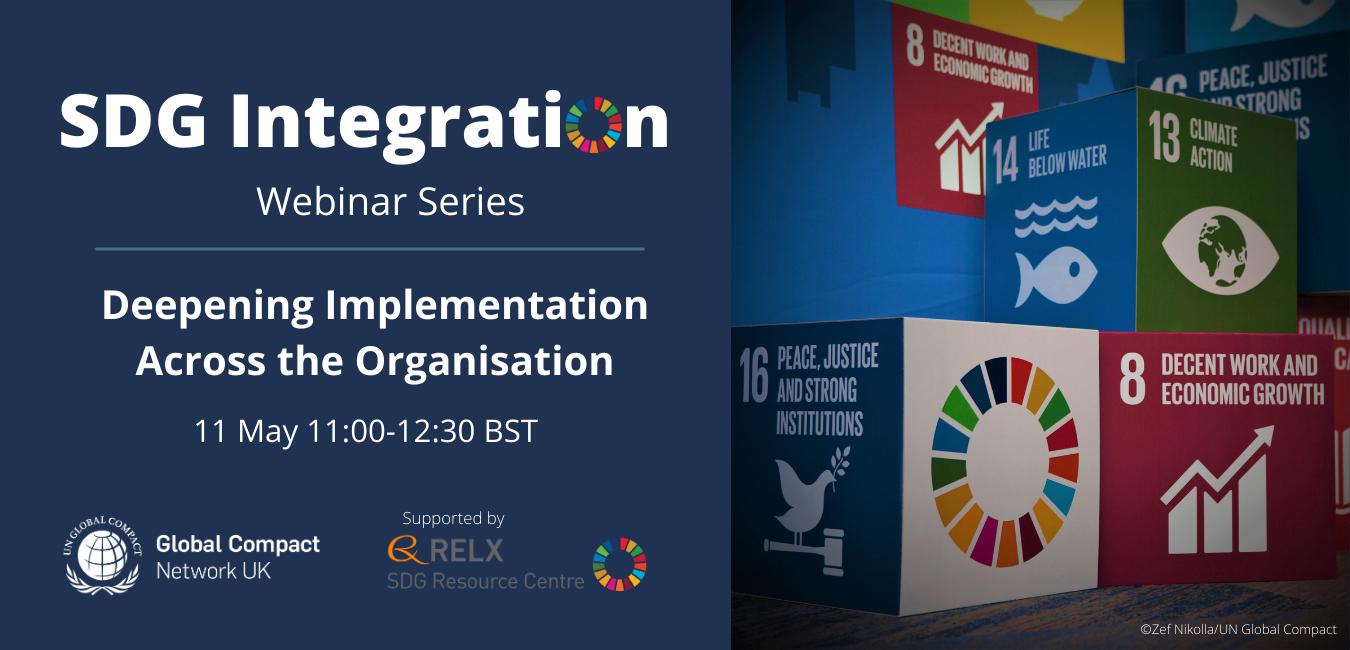 SDG Integration Deepening Implementation