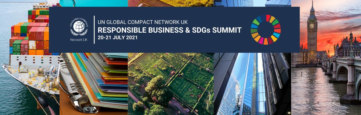 Responsible Business & SDGs Summit header
