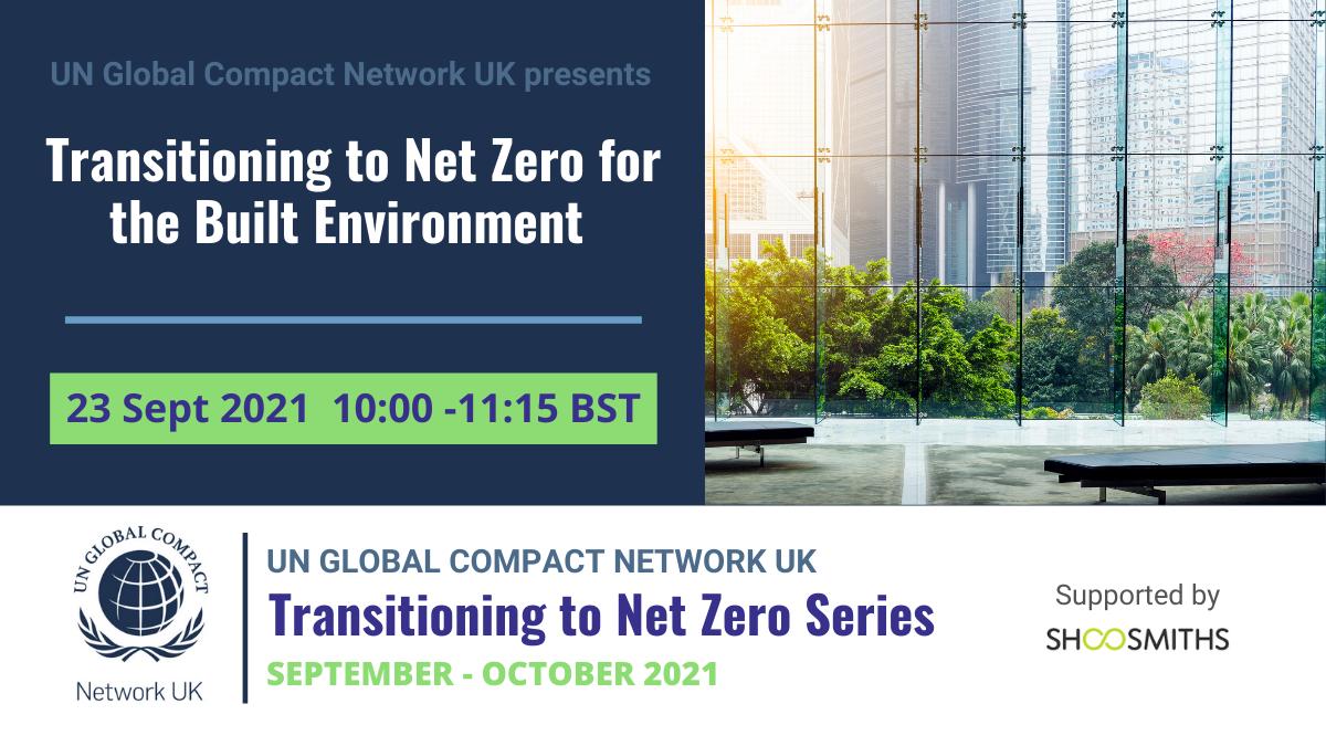 Transitioning to Net Zero - Built Environment