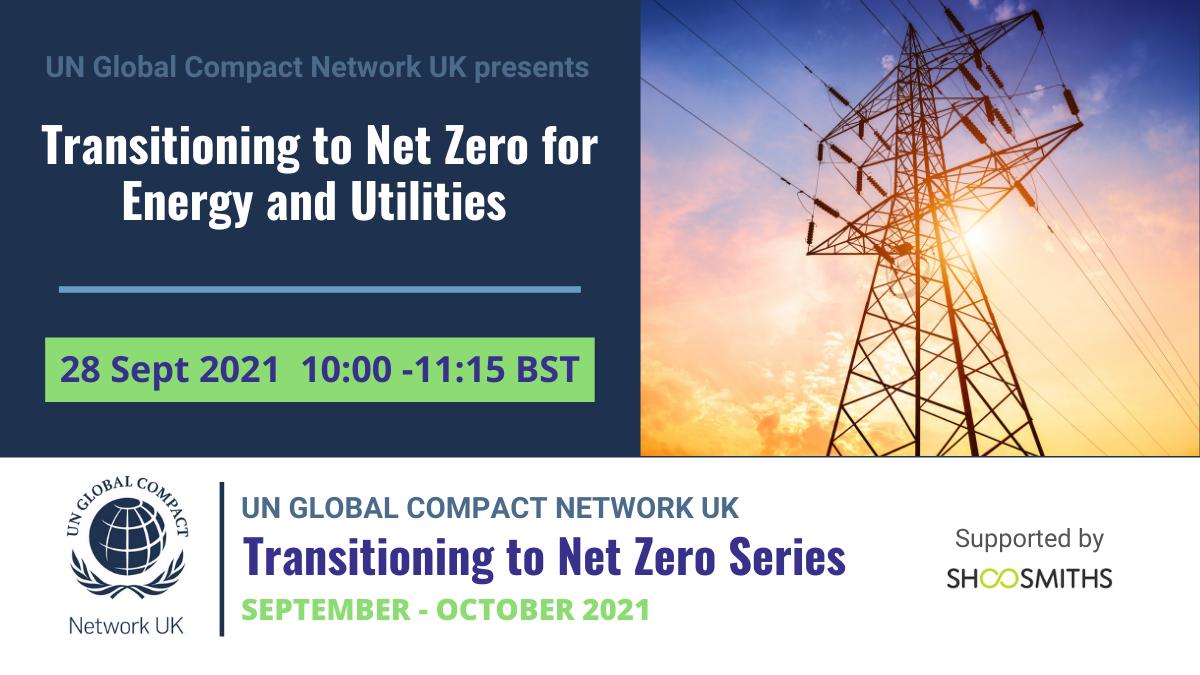 Transitioning to Net Zero - Energy & Utilities