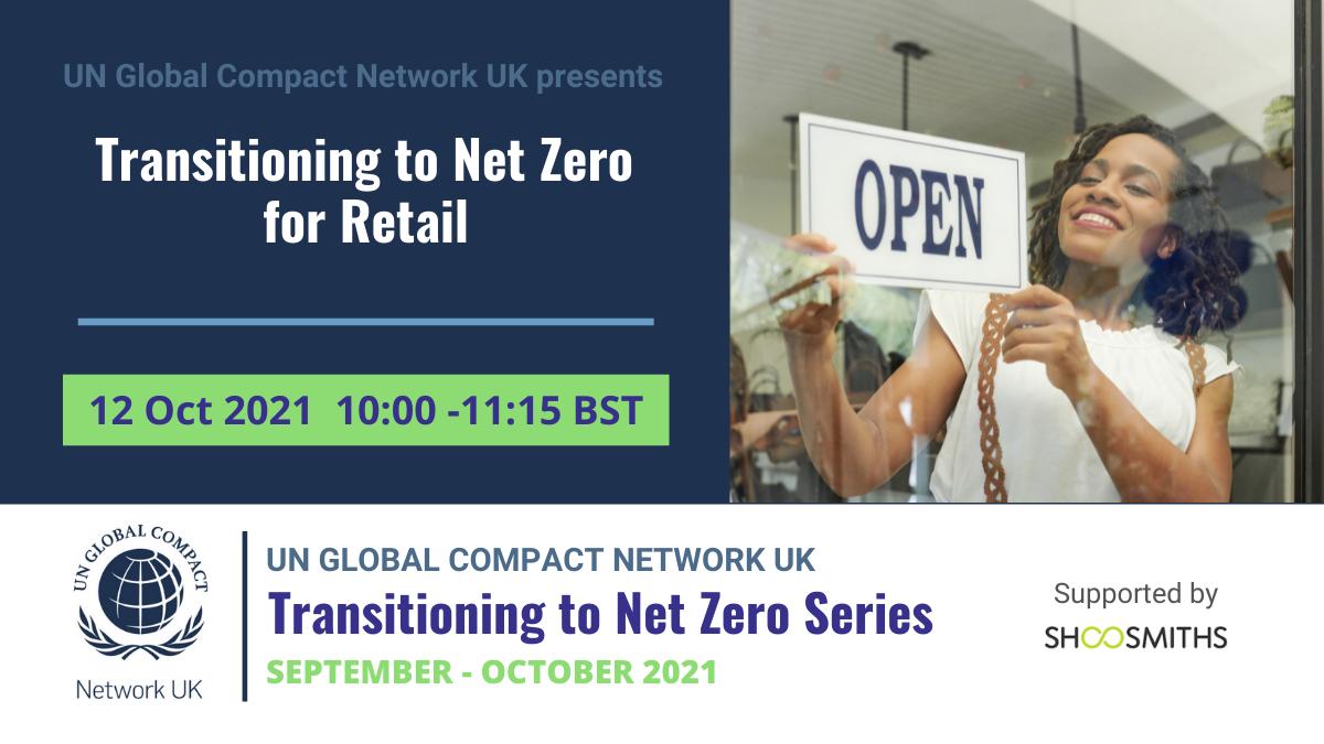 Transitioning to Net Zero - Retail