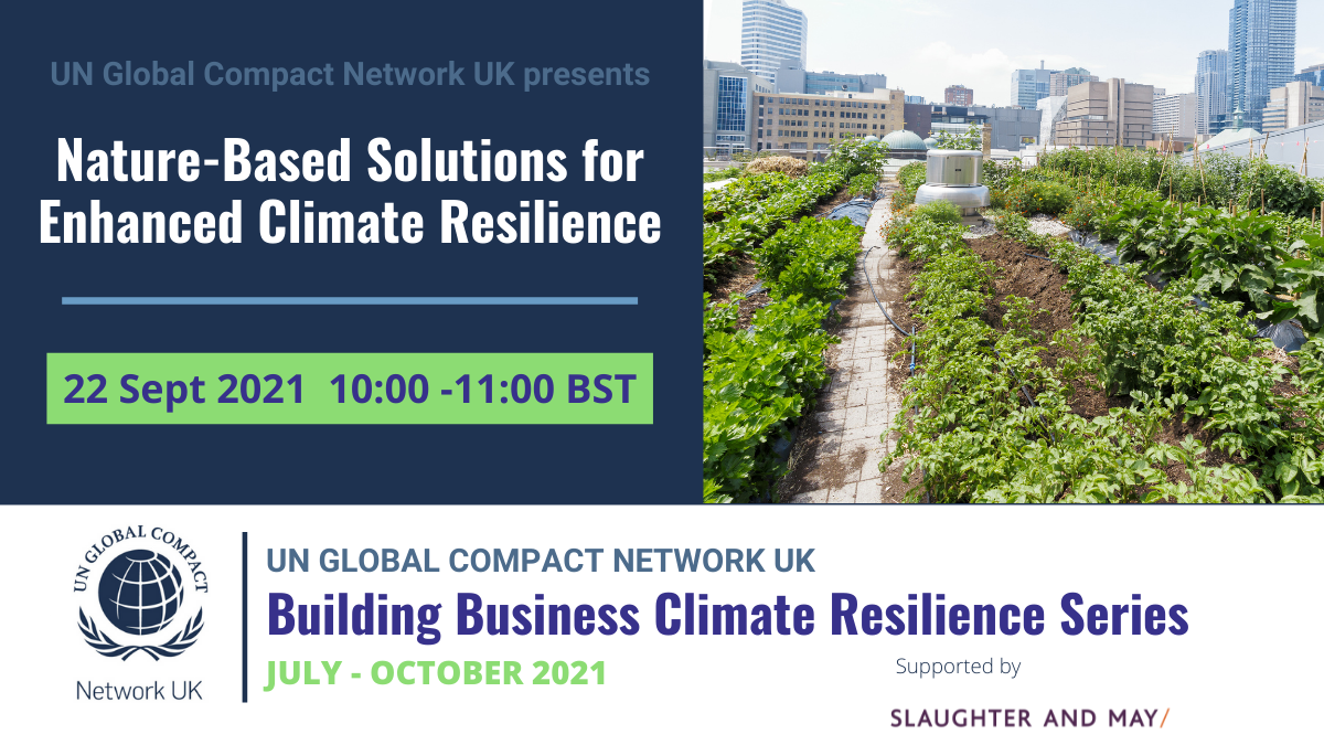 Nature-Based Solutions for Enhanced Climate Resilience