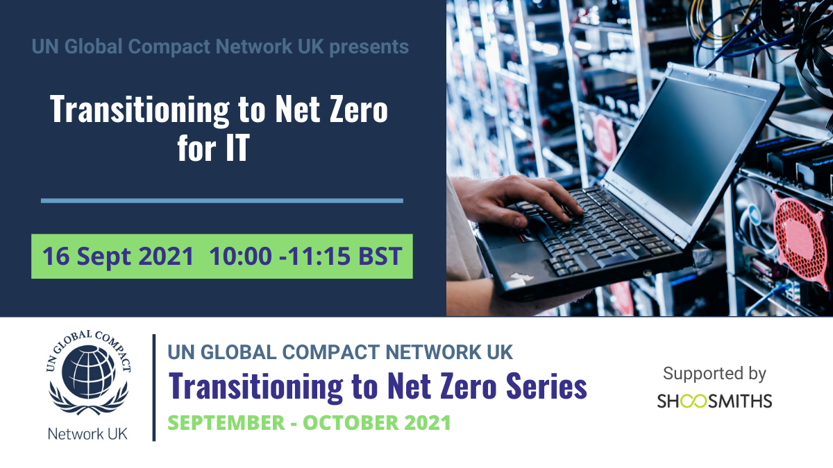 Transitioning to Net Zero - IT1