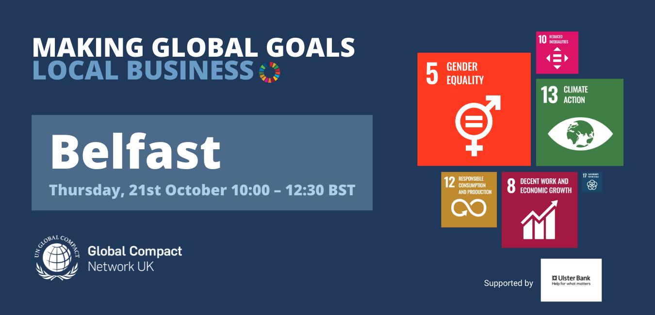 Making Global Goals Local Business Belfast-1
