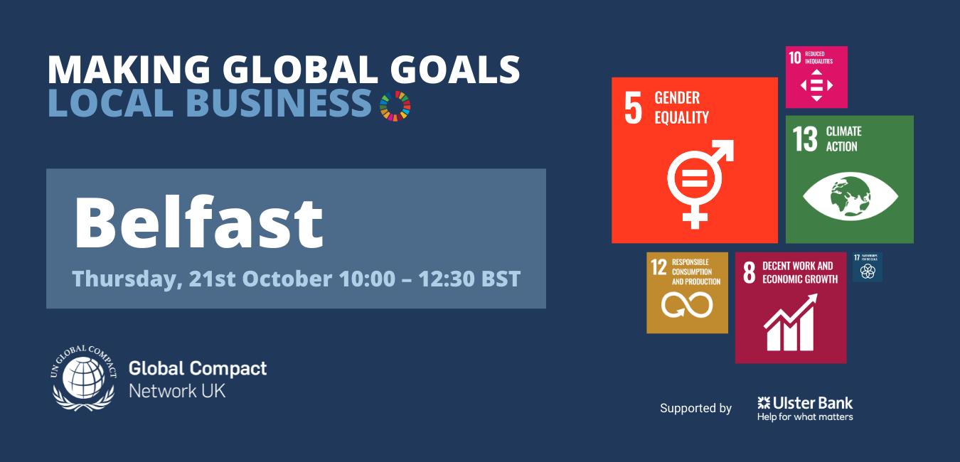 Making Global Goals Local Business Belfast