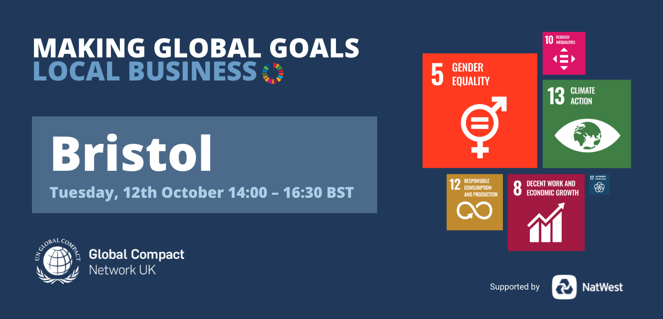 Making Global Goals Local Business Bristol